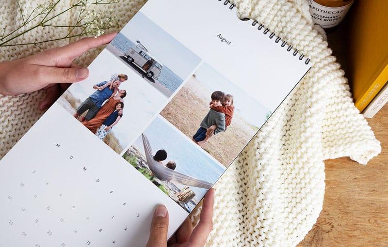Fotokalender gestalten - Reiseblog Bravebird