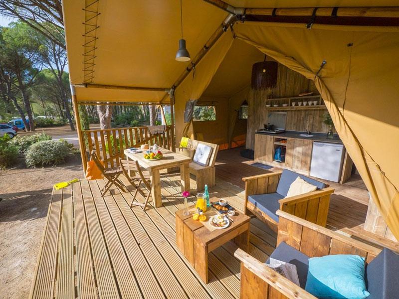 Punta Mila Campingplatz Yelloh - Reiseblog Bravebird