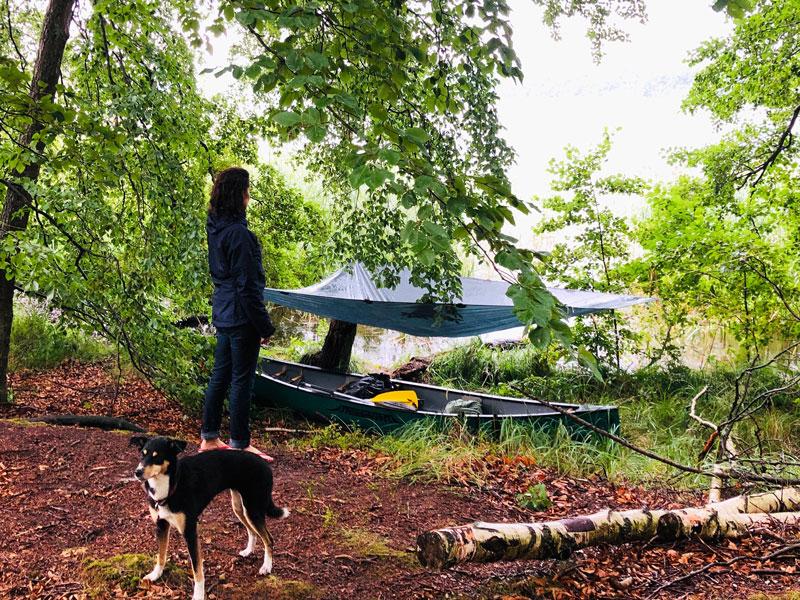 Kanutour bei Regen - Reiseblog Bravebird