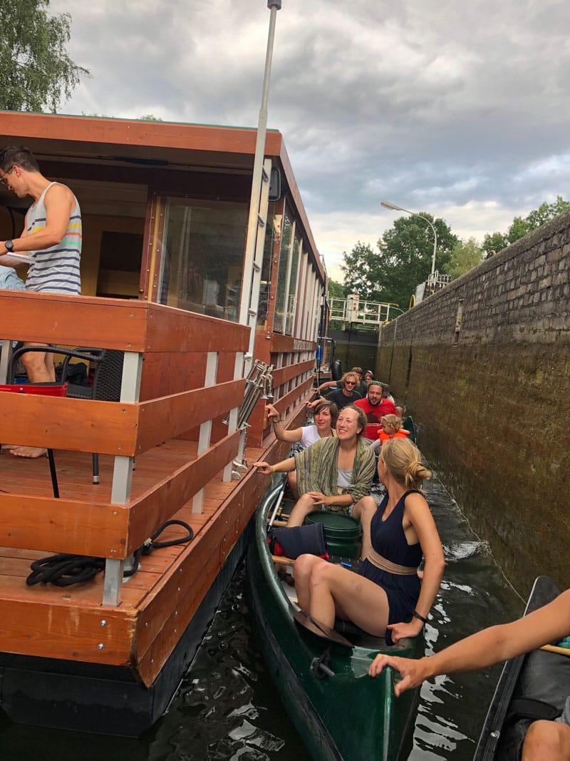 Schleusenschnaps Kanu-Tour Meck-Pomm - Reiseblog Bravebird