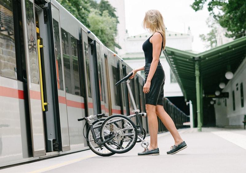 Mit dem Faltrad unterwegs im Zug - Reiseblog Bravebird