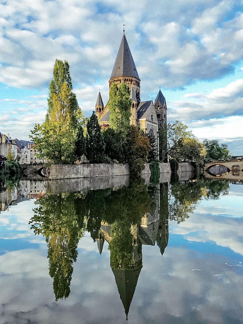 Kathedrale von Metz - Reiseblog Bravebird