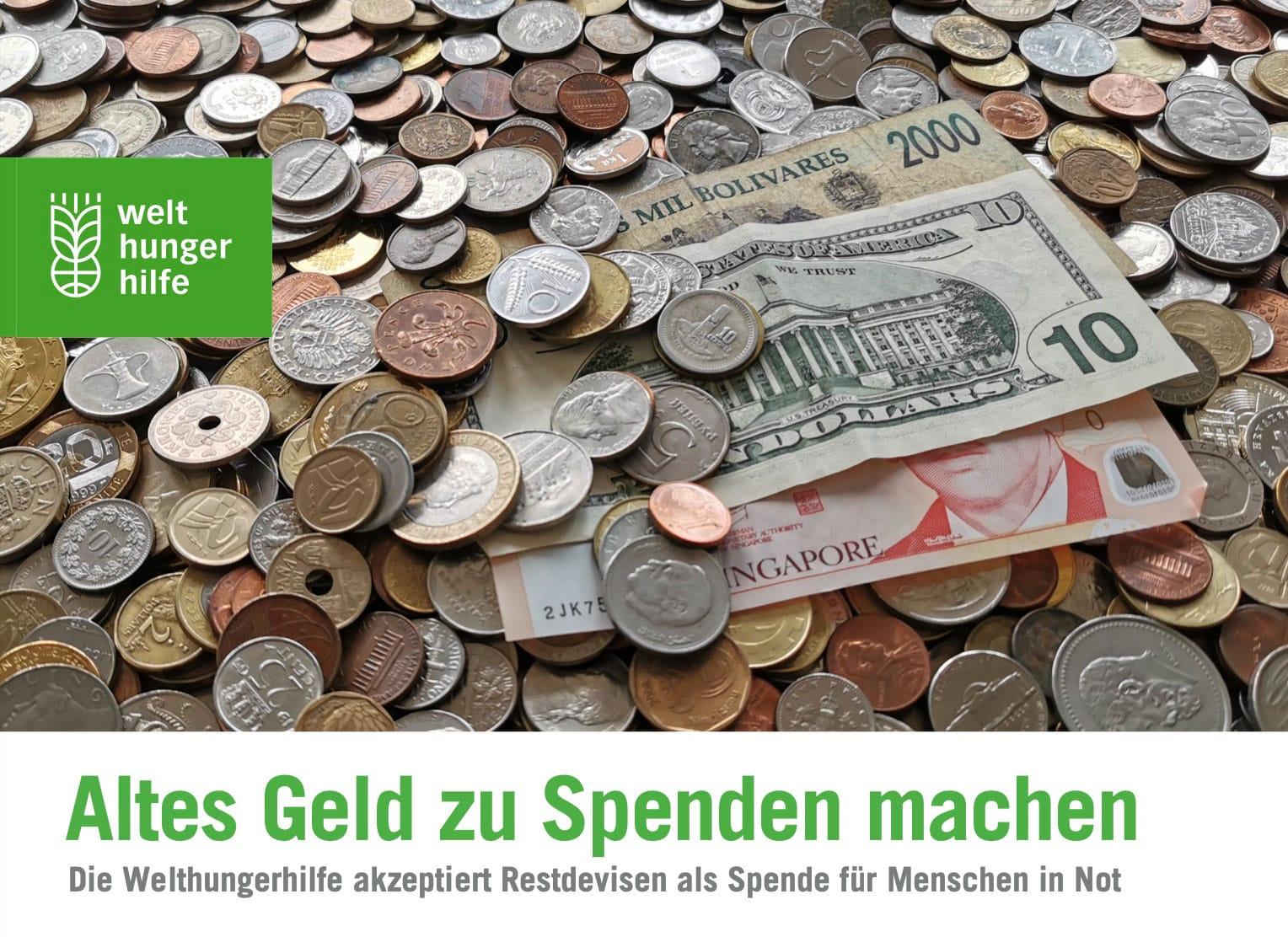 Fremdwährungen spenden - So geht's - Reiseblog Bravebird