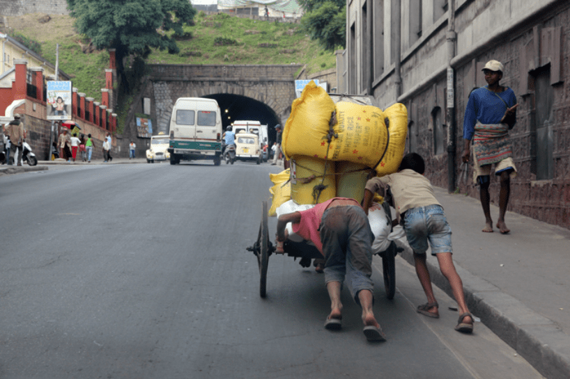 Madagaskar Armut