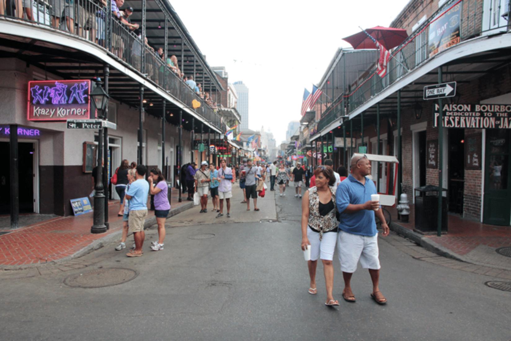 New Orleans Feiern