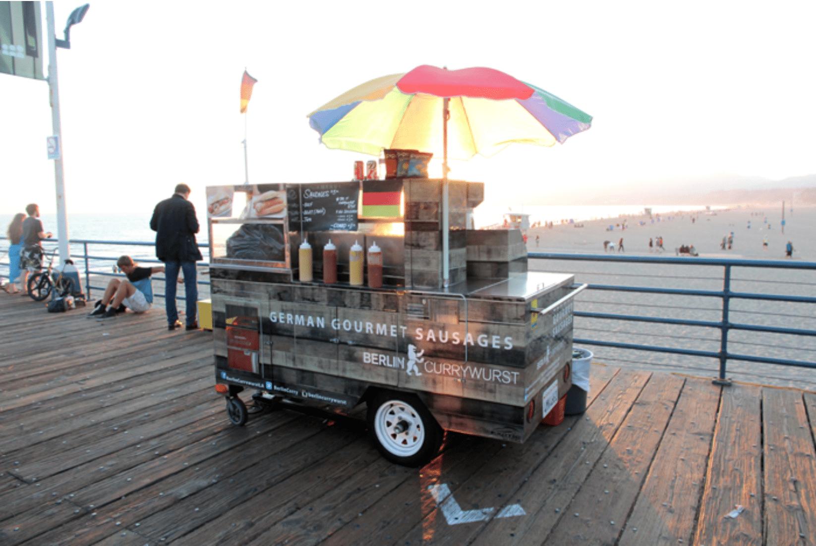 Santa Monica Currywurst