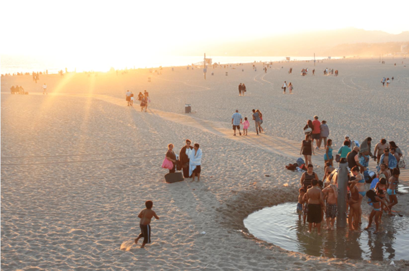 Santa Monica Beach Reise