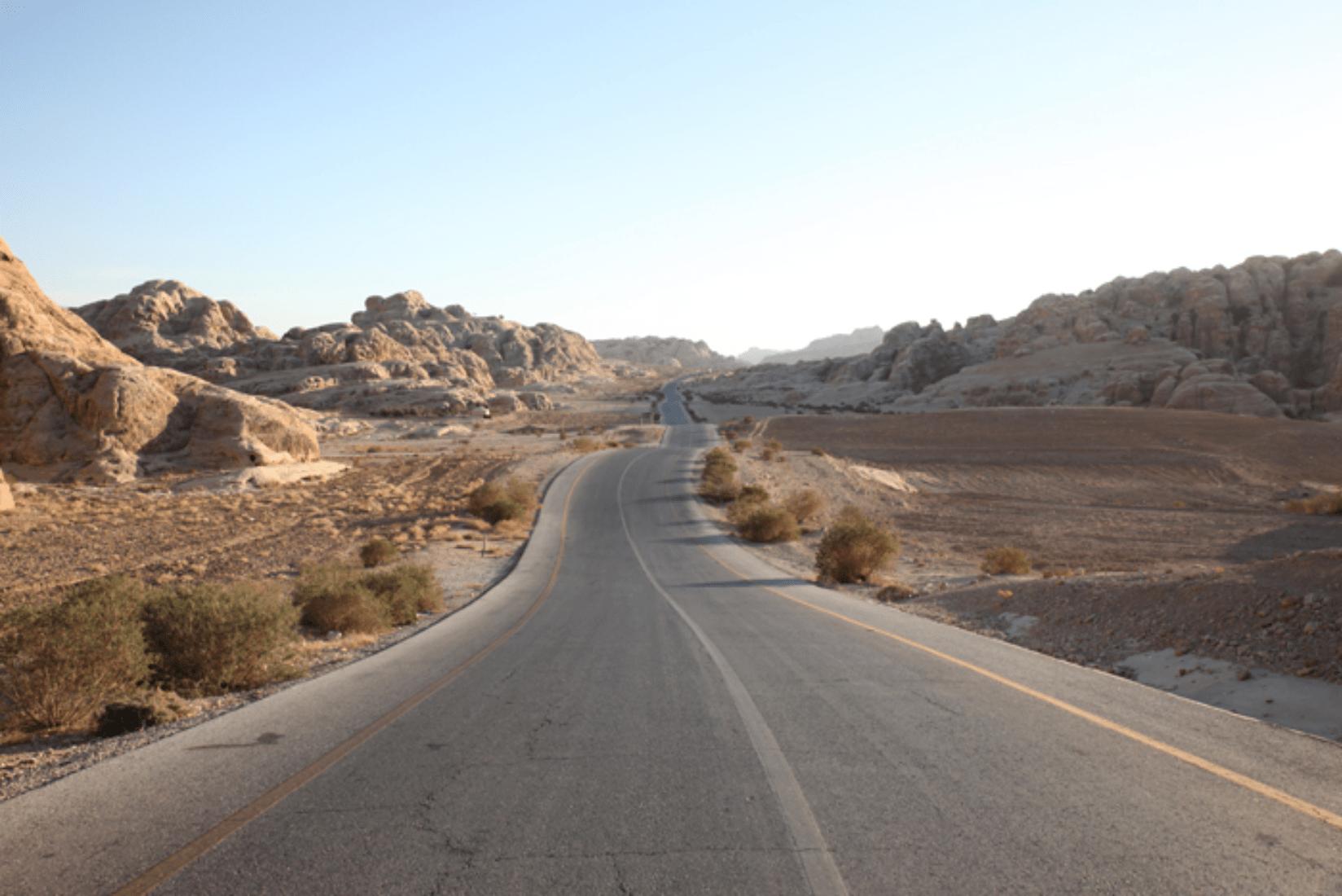 Straßen Jordanien
