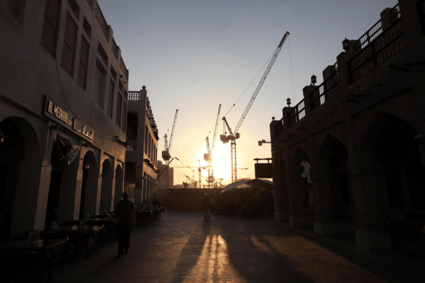Doha Baustellen