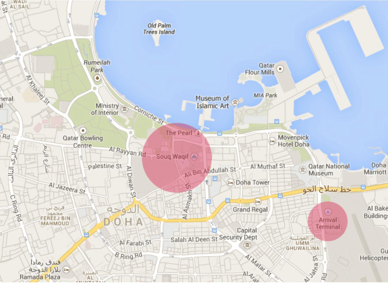 Doha Karte