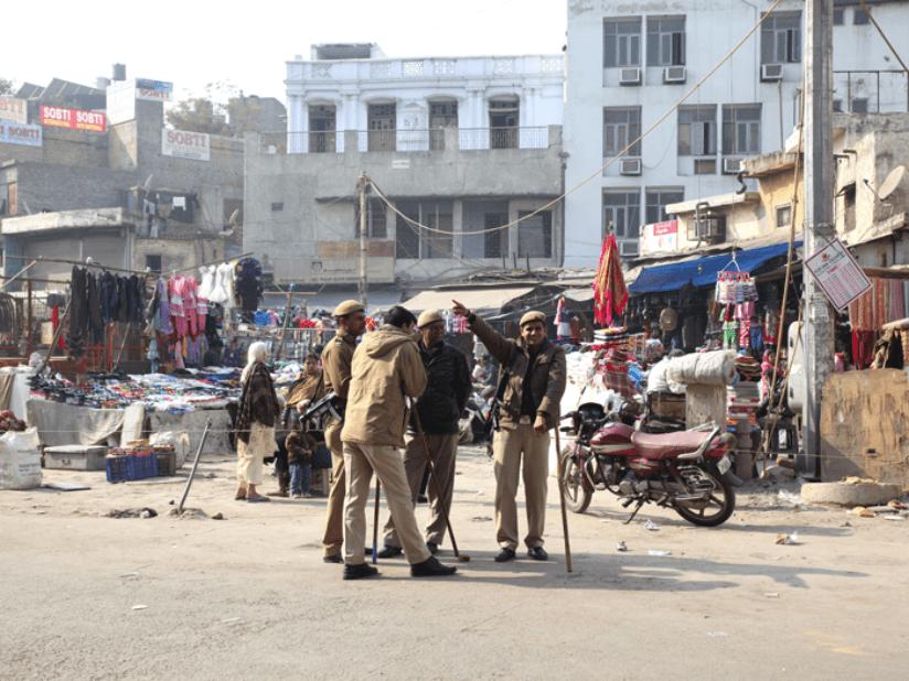 Delhi Chaos