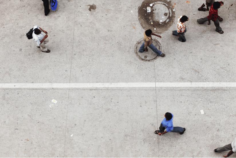 Neu-Delhi Straßen