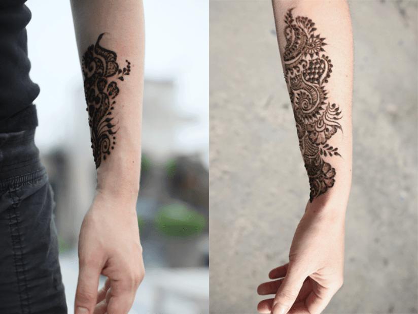 Indien Henna Tattoo