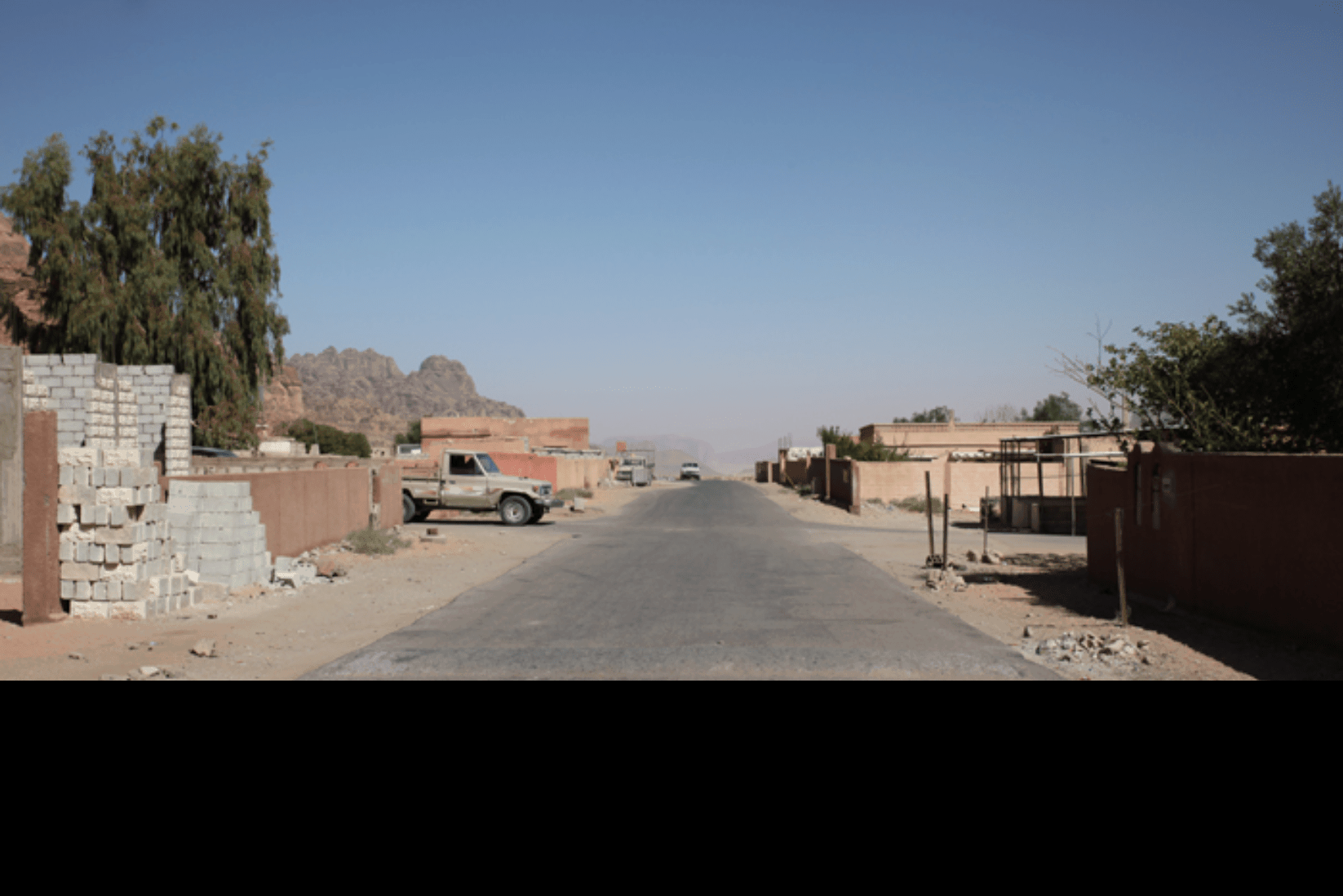 Wadi Rum Straßen