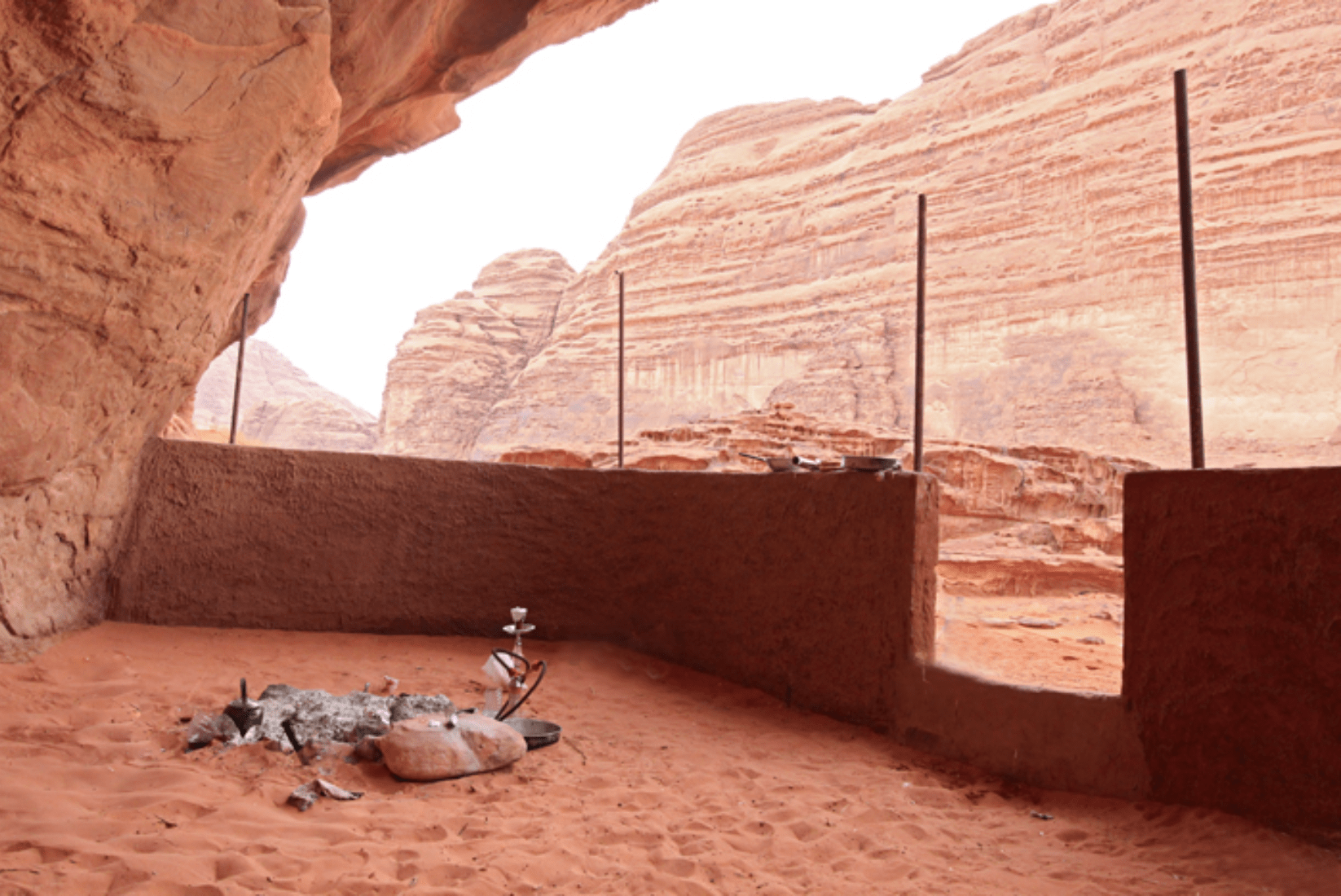 Wadi Rum Wüste Höhle