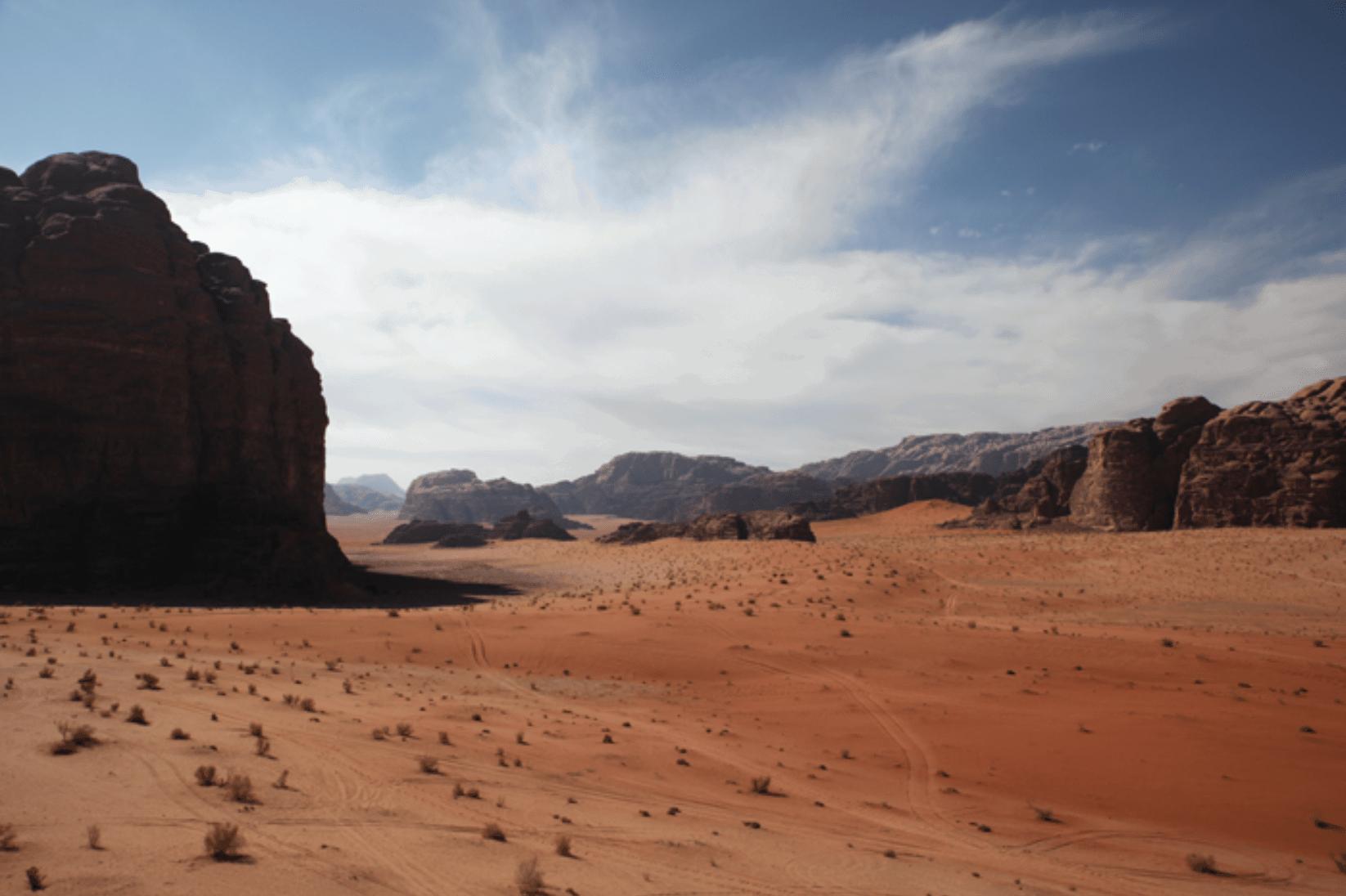 Wadi Rum rote Wüste