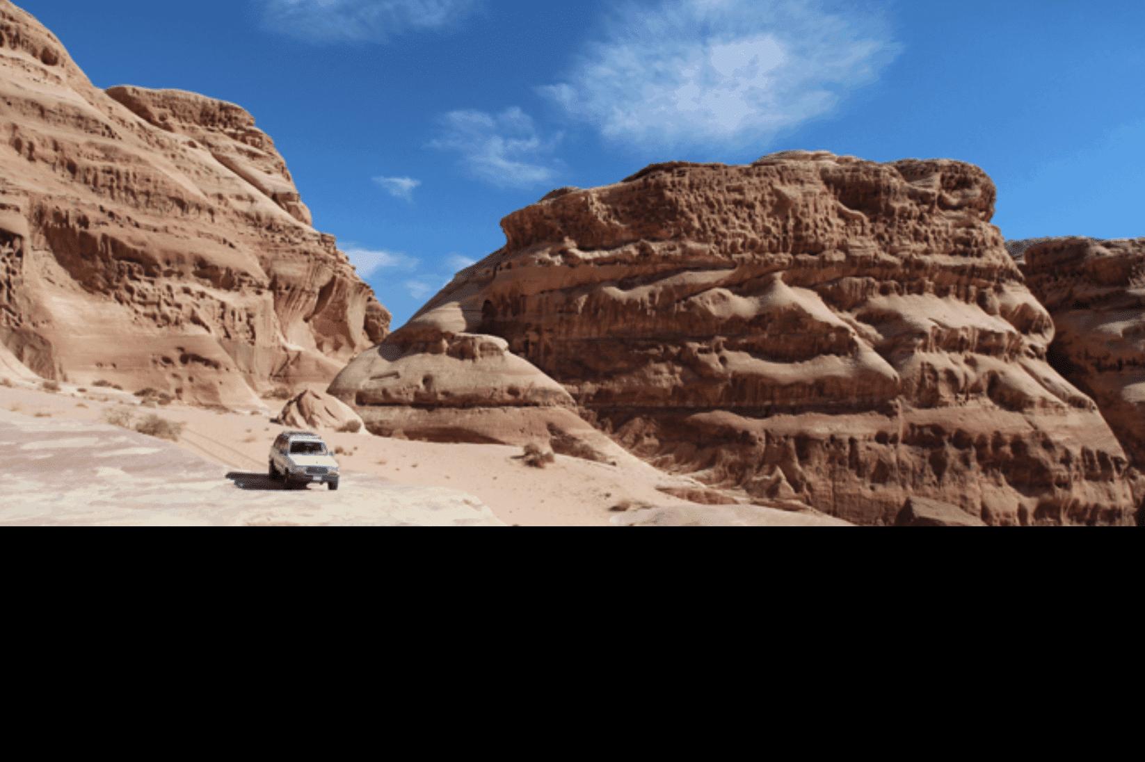 Wadi Rum Berge