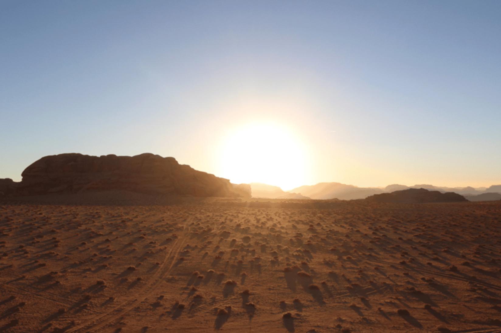 Wadi Rum Sonnenuntergang