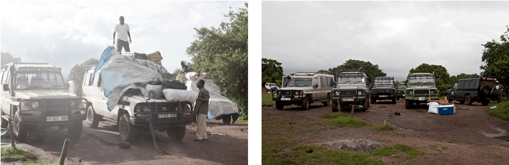 Camping Ngorongoro Reise