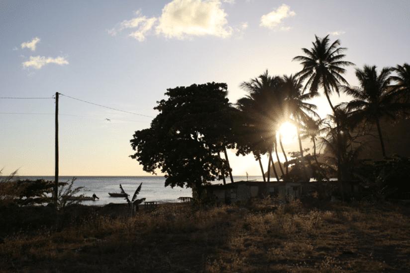 St. Lucia Sonnenuntergang