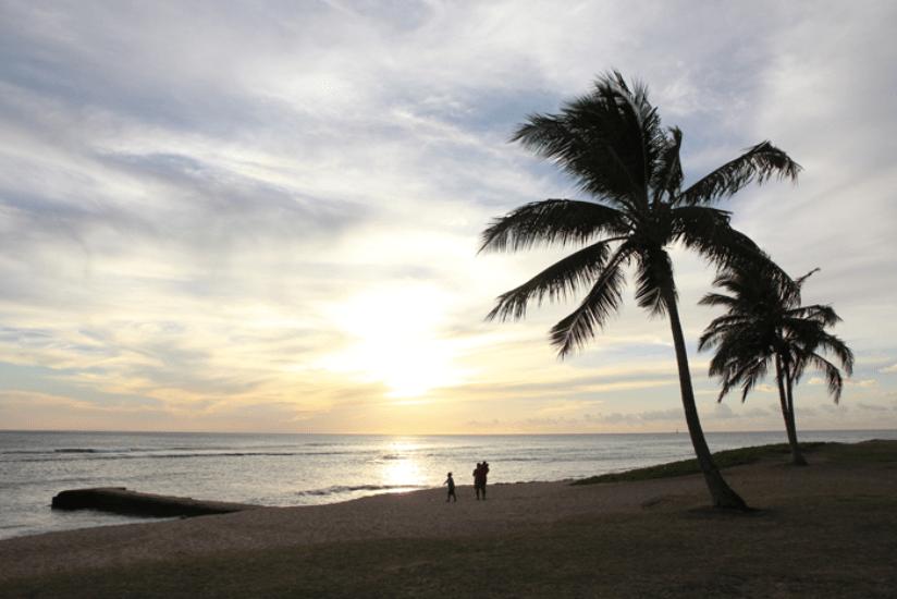 Hawaii Insel Reiseblatt