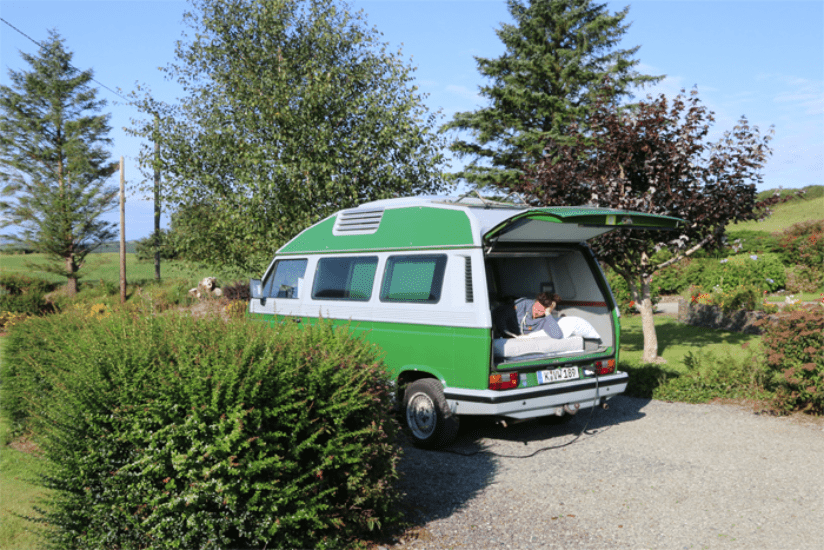 Südengland Campingplatz T3