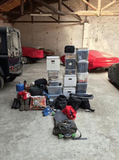 Camping Vorbereitung