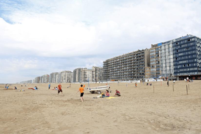 Belgien Strand Camper