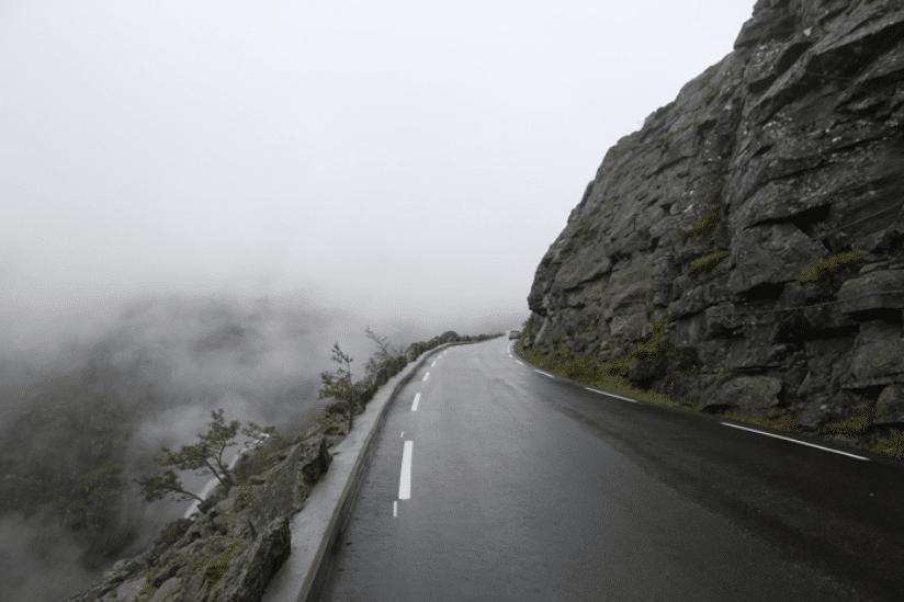Norwegen Berge Auto