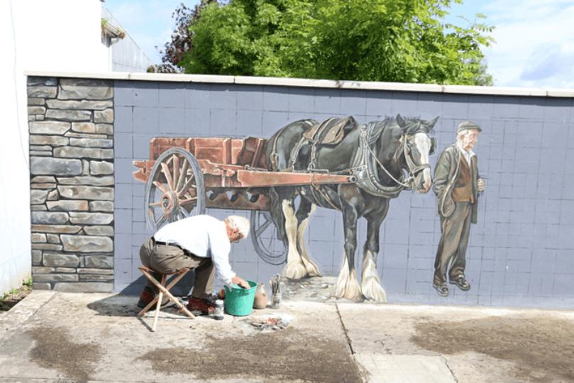 Irland Wandmalerei