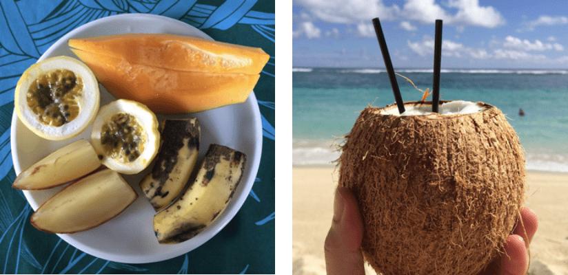 Samoa Früchte