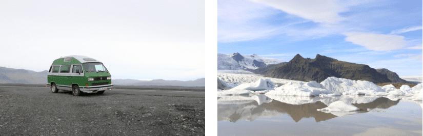 Island Eis Gletscher