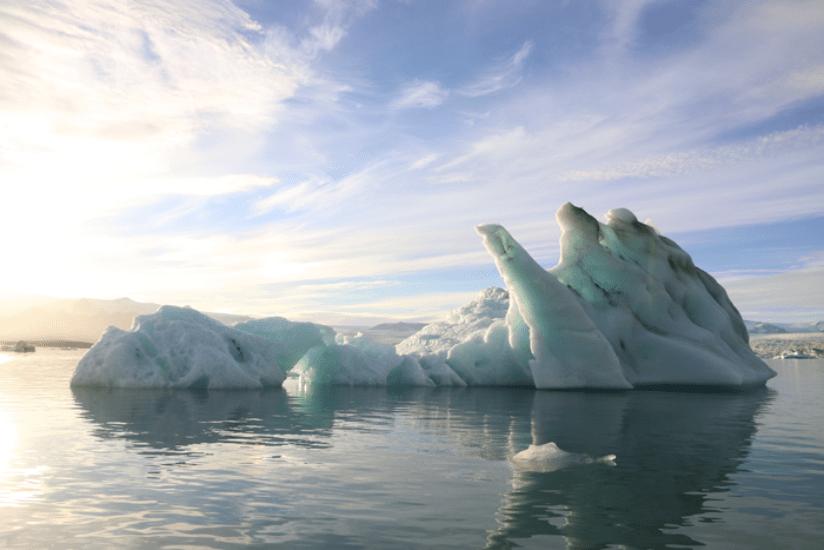 Island Eislagune