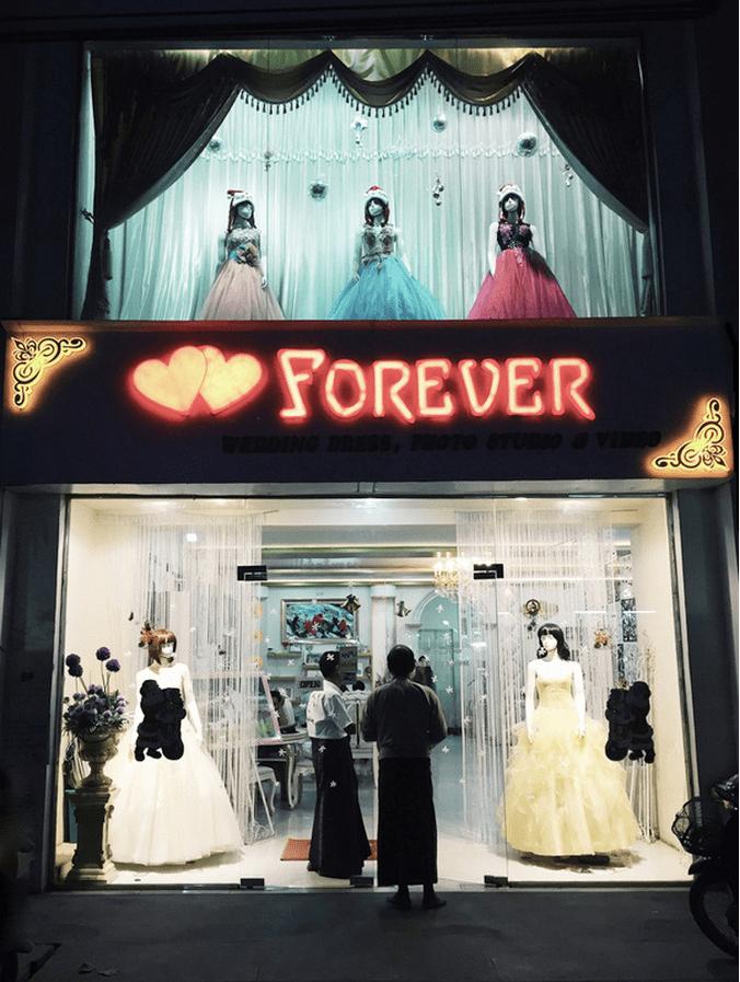 Myanmar Hochzeits Shop