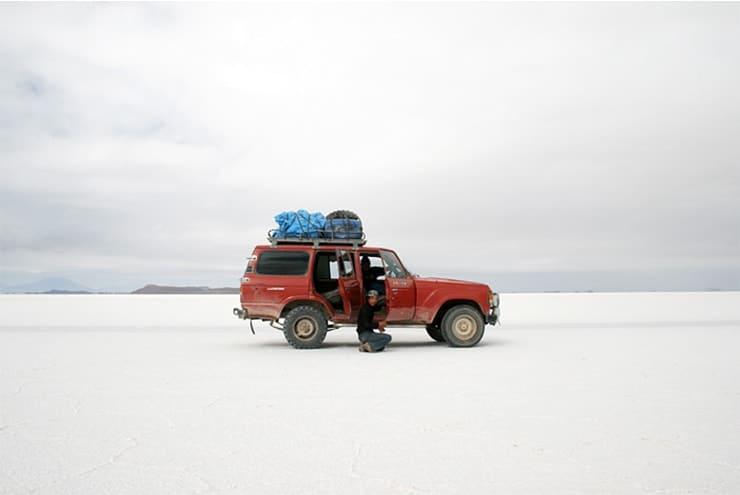Salar de Uyuni Abenteuer Alleine