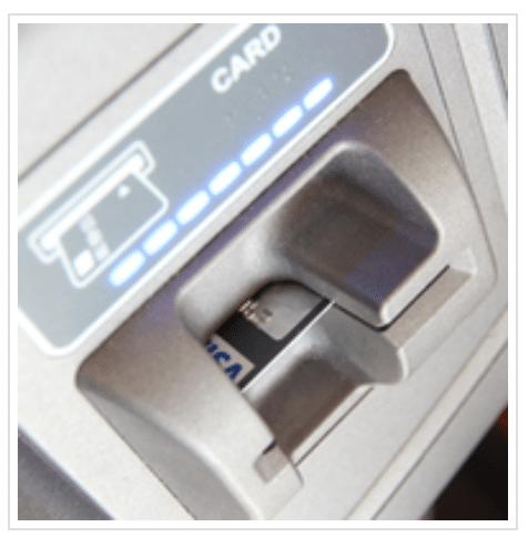 Geldautomat Karte