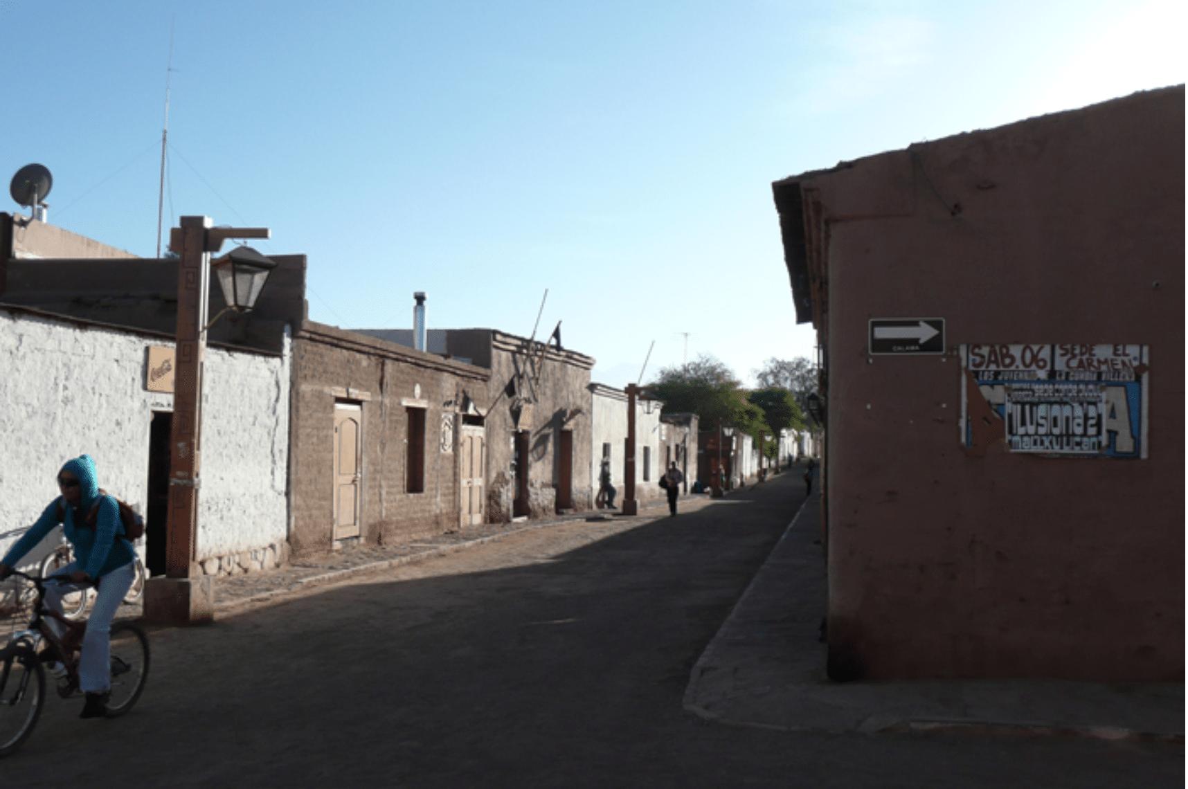 San Pedro de Atacama Straßen